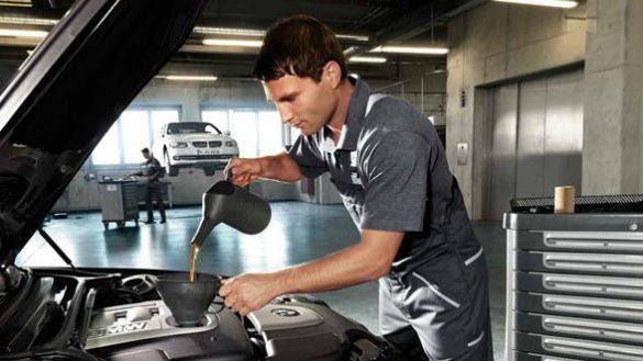 BMW Service Motoröl